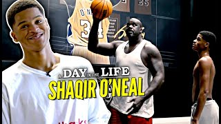 "Shaqir O'Neal ""Day In The Life"" 