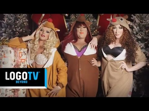 Willam Belli, Detox & Vicky Vox: DWV's That Christmas Song - Exclusive Preview - LogoTV
