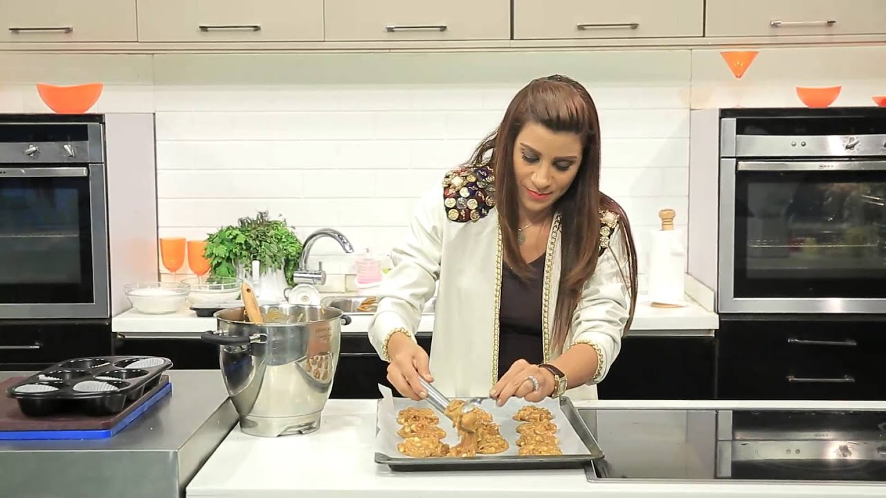 كوكيز زبدة فول السودانى و وصفات اخرى : اميرة في المطبخ حلقة كاملة