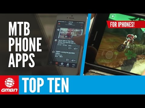Top 10 iPhone Apps For Mountain Bikers