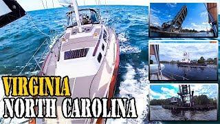 Ремонт яхтеной лебедки. Путешествие по глубинке США на яхте [2]. Вирджиния → Северная Каролина.