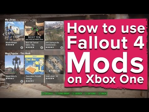 How to use Fallout 4 Mods on Xbox One