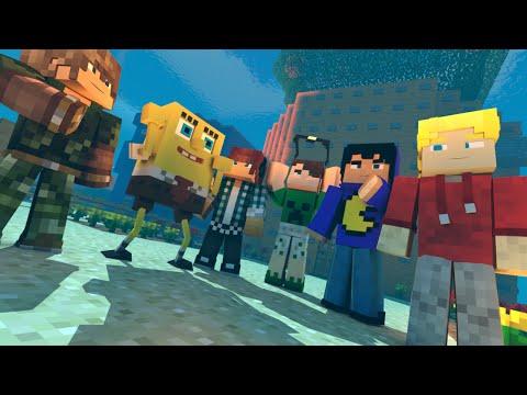 Minecraft: BOB ESPONJA! ( Pac, Mike, Authentic, Jv)