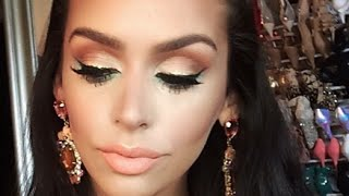 ORANGE Obsession | Color Series +Makeup Tutorial Thumbnail