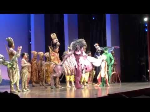 An Emotional Father's Day Surprise at THE LION KING