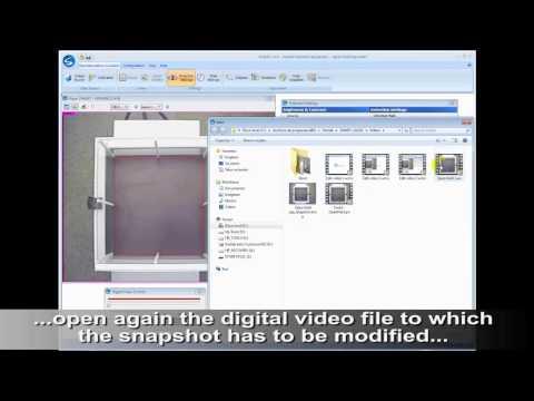 SMART video tracking Snapshot