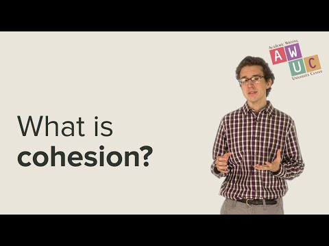 An Introduction to Cohesion in Academic Writing