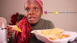 Mexican Dinner ASMR Eating Sounds For Tingles