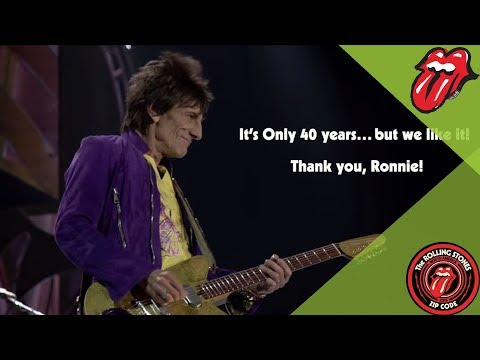 Ronnie Wood: 40 Years A Rolling Stone!