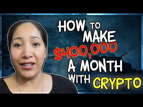 Crypto Strategy 2018 - How I Plan to Meet My $400,000 a Month Crypto Goal