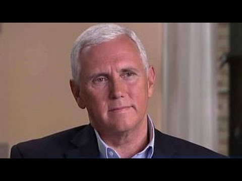Mike Pence on Trump campaign shake-ups, visiting Louisiana