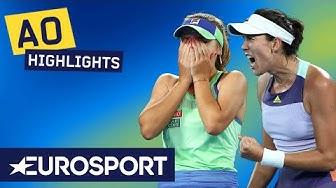 Sofia Kenin vs Garbiñe Muguruza Extended Highlights | Australian Open 2020 Women's Final | Eurosport