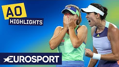 Sofia Kenin vs Garbiñe Muguruza Extended Highlights | Australian Open 2020 Women's Final | Eurosport