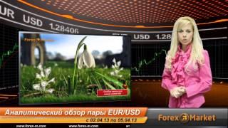Видео обзор пары EUR/USD с 02.04.2013 по 05.04.2013