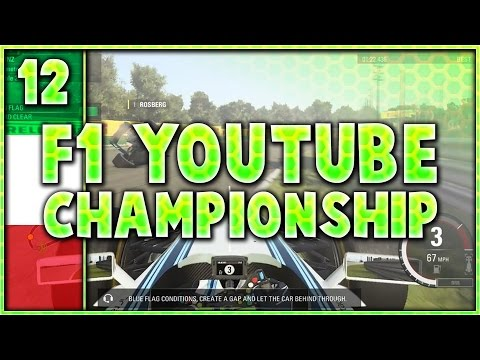 F1 Youtuber Championship Part 12: Unbelievable Scenes