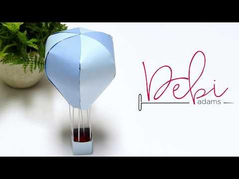 How To Make | Spellbinders Hot Air Balloon Die