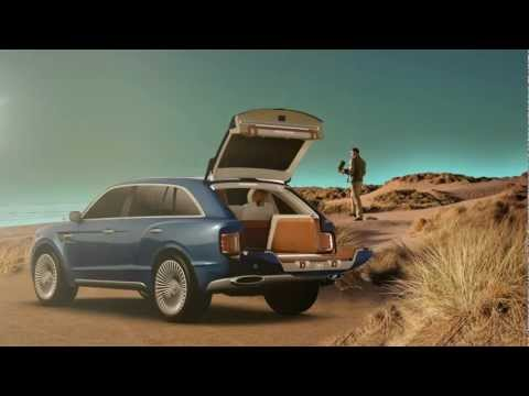 2013 New Bentley SUV EXP 9 F First Commercial - 2013 Carjam TV HD Car TV Show