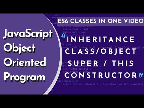 Classes, Object & Inheritance In JavaScript OOP In Hindi