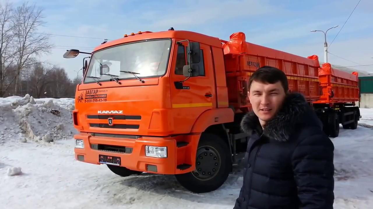 Камаз 45143 - ОБЗОР - YouTube