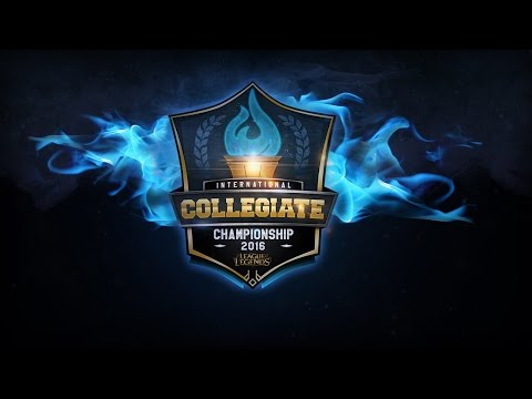 League of Legends International Collegiate Championship Day 3