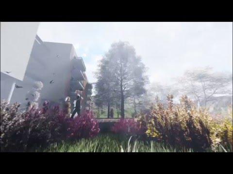 Vidéo d'animation 3D d'une résidence - Promotion immobilière