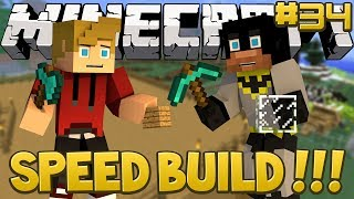 Minecraft Dinosaurs Mod SPEED BUILD SPECIAL! (Fossils and Archaeology) Series, Episode 34