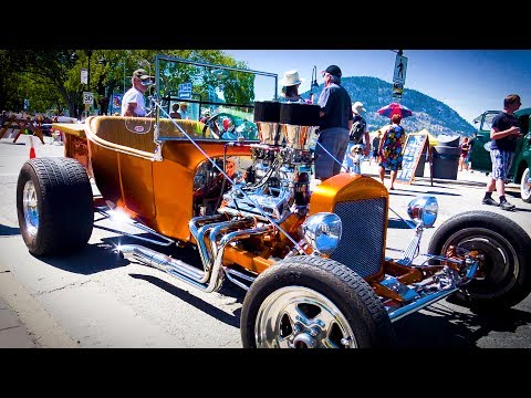 Peach City Beach Cruise - Car show 2017 part 2