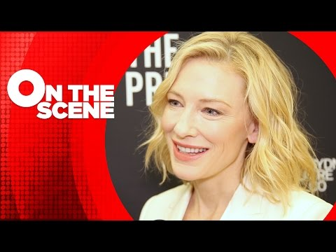 Cate Blanchett on Making Her Broadway Debut in Andrew Upton's Adaptation of Chekhov's THE PRESENT