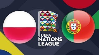POLAND VS. PORTUGAL | UEFA Nations League | PES 2018