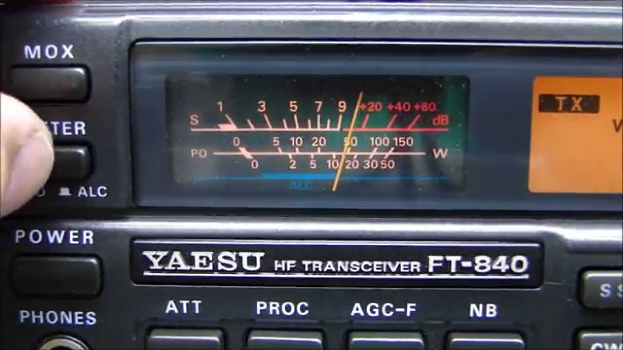 ALPHA TELECOM: YAESU FT-840 TROCA DO ENCODER e ALINHAMENTO COMPLETO