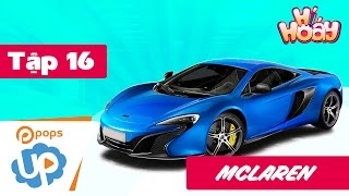 How to draw  🖍 a car Mclaren SUPER FAST  🎉 | Coloring pages for children - Hí Hoáy - EP 16
