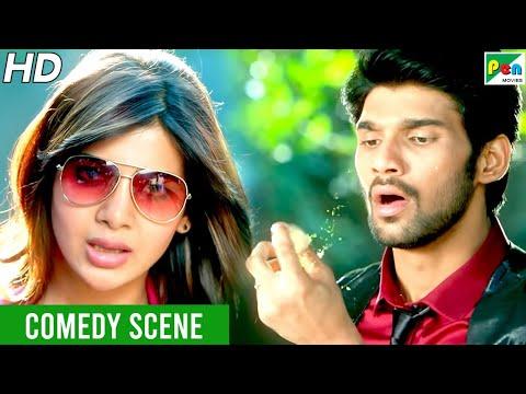 Mahaabali - Panipuri Funny Scene | New Hindi Dubbed Movie | Bellamkonda, Samantha, Brahmanandam
