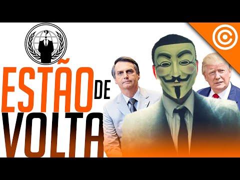 Anonymous VOLTOU com GRAVES acusações pesadas