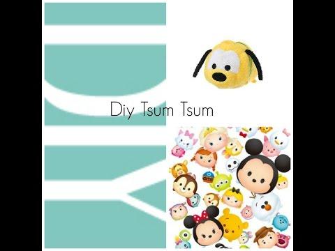 Diy Pluto Tsum Tsum