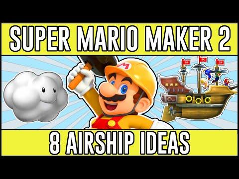 Awesome Airship Ideas! - Super Mario Maker 2 Airship Ideas