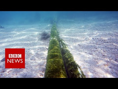 Russia a 'risk' to undersea cables, defence chief warns – BBC News