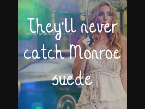 Ashley Monroe - Monroe Suede [Lyrics On Screen]