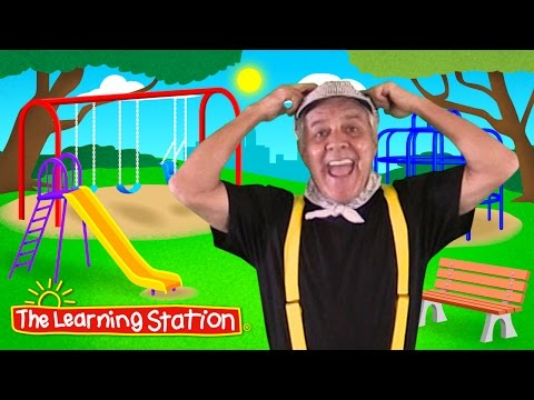 Head, Shoulders, Knees & Toes with Lyrics ♫ Kids Learning Songs ♫ Camp Song & Brain Breaks for Kids