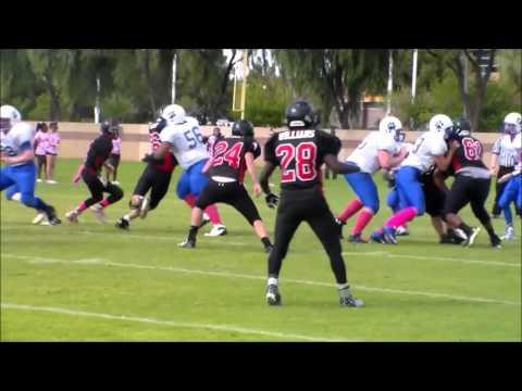 #56 Brendan Staples Right Guard Laughlin High School 2015