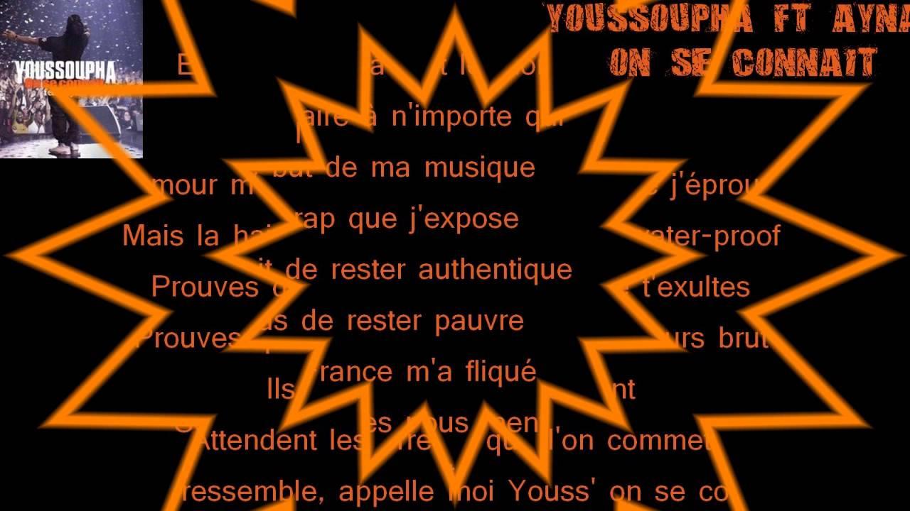 musique youssoupha on se connait gratuitement