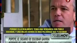 Popeye, el sicario favorito de Pablo Escobar, está libre