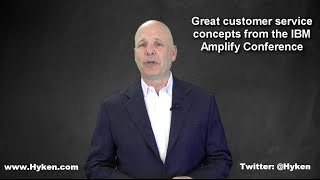 Customer Service Speaker Highlights Amazing CS Concepts From IBM Amplify Conference