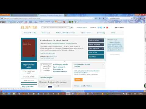 How To Index Your Journal To SCOPUS AND THOMSON REUTEURS By Google Search Engine