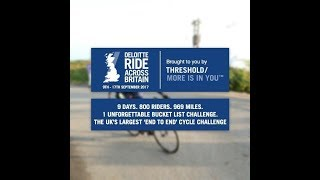 Ride Across Britain 2017 #relive