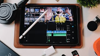 HOW TO EDIT VIDEO on an IPAD LIKE A PRO using LUMA FUSION FREE GIVEAWAY