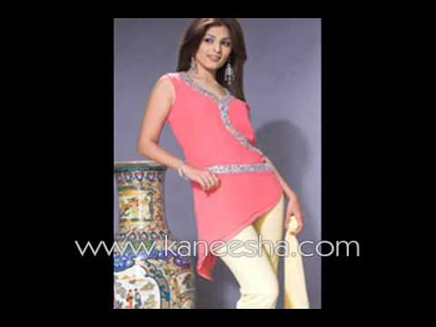 Indian Designer Pant Suit Ladies Silk Pant Suit Fashion Youtube
