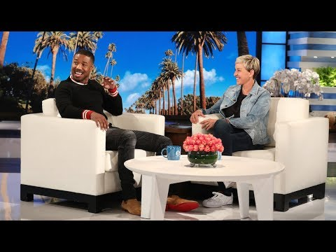 Ellen Attempts to Get Michael B. Jordan to Say the Secret Word