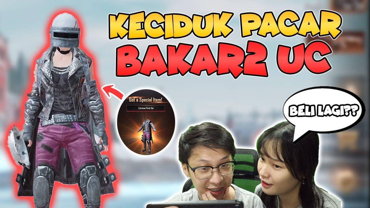 KECIDUK BAKAR2 UC DEMI SKIN BAJU PALING MAHAL! AUTO DIHAJAR PACAR! - PUBG MOBILE INDONESIA