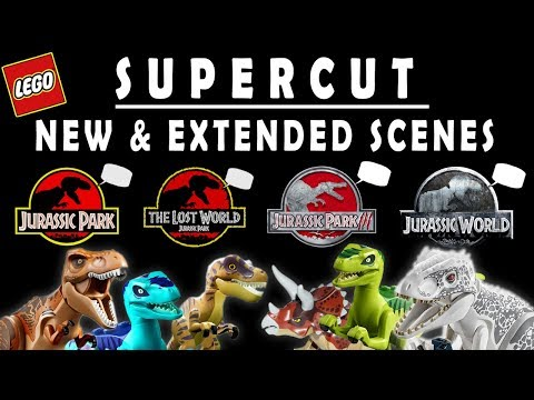 If Dinosaurs in LEGO Jurassic World Could Talk... ALL CUTSCENES!