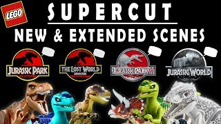 If Dinosaurs in LEGO Jurassic World Could Talk... ALL CUTSCENES! - Brand New & Extended Scenes!